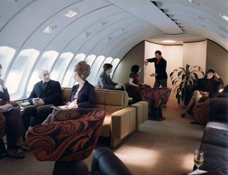 В первом классе для пассажиров созданы все условия, чтобы полностью расслабиться.