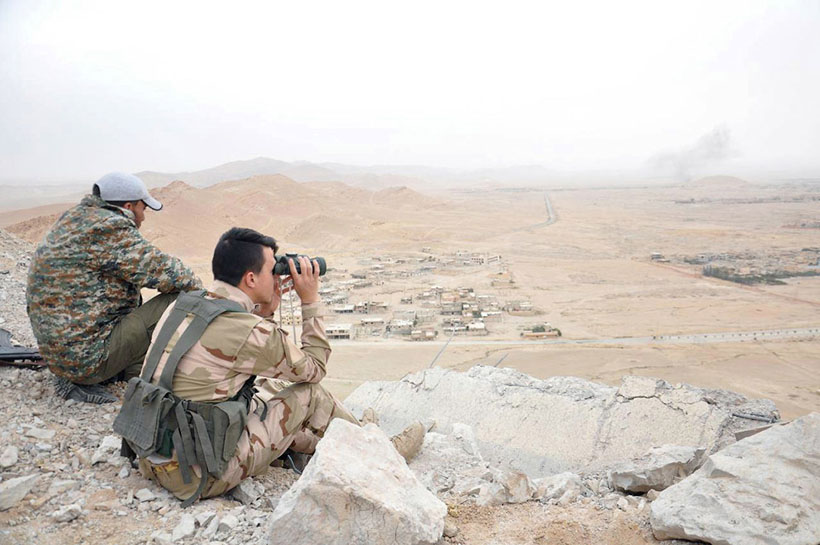 Для восстановления разрушенных и пострадавших памятников древнего города Пальмира понадобится порядк