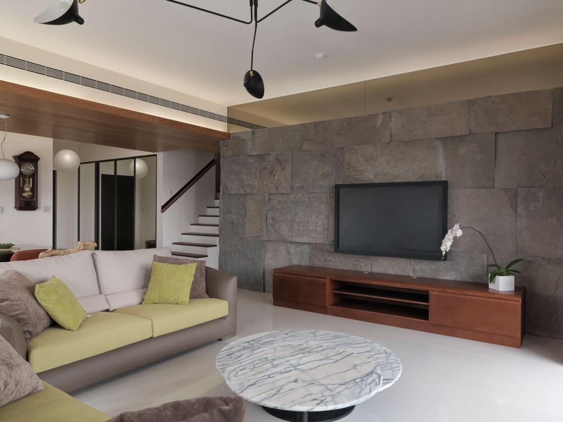 Проект квартиры Natural Living от Happy Studio