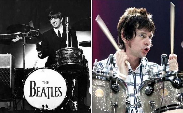 Мик Джаггер из The Rolling Stones и Джеймс Джаггер