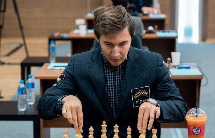 Карлсен обыграл Карякина вматче замировую шахматную корону