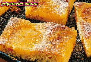 Слоеные апельсиновые пирожные