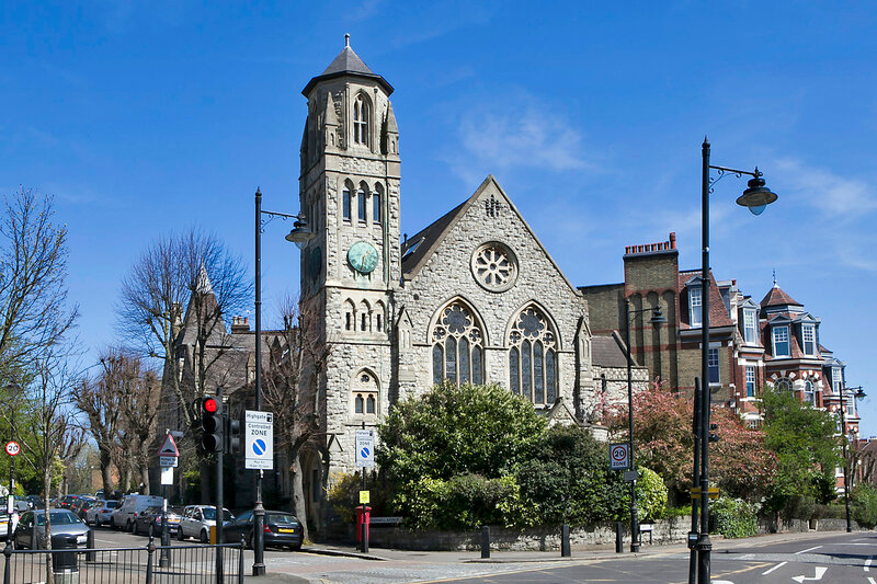 Old church conversion  retains numerous original features and the apartments design, Highgate