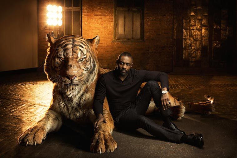 The Jungle Book – The actors pose with the animals they are voicing (6 pics)