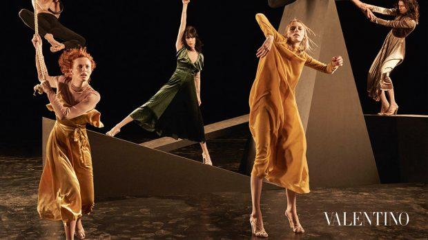 Discover Valentino 's Fall Winter 2016.17 womenswear advertisement featuring supermodels Karen