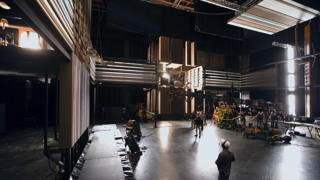 The Visually Stunning 'Tesseract' Scene in Interstellar was Filmed on a Physically Constructed Set