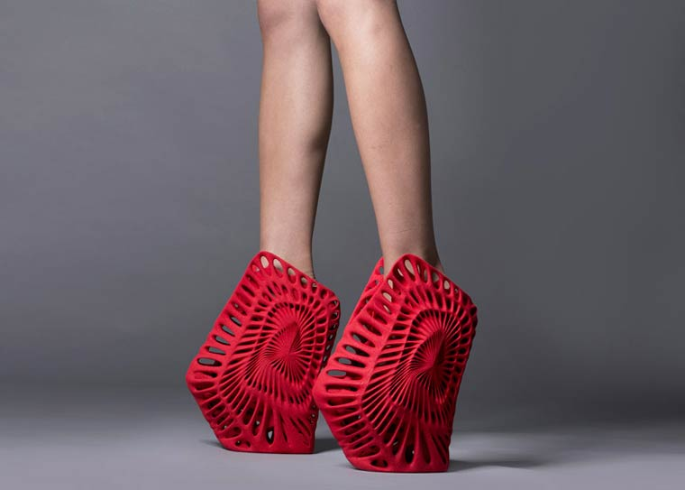 United Nude - The 3D printed shoes by Zaha Hadid and Ben van Berkel