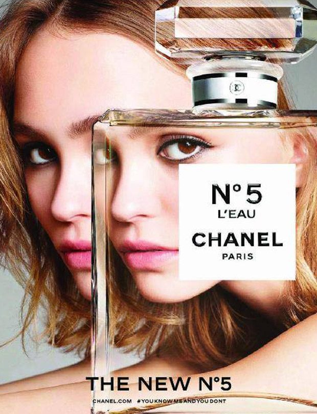 Lily-Rose Depp is the Face of Chanel No.5 L'Eau 2016 Fragrance Ads (1 pics)