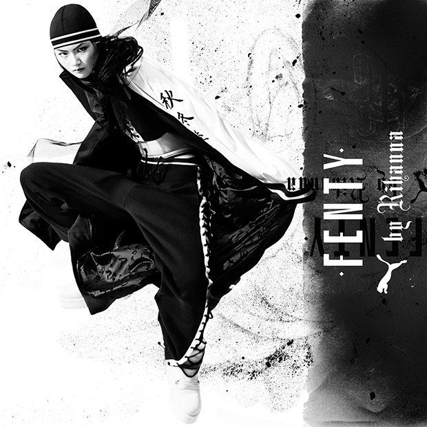 FENTY PUMA by Rihanna Fall Winter 2016 Campaign (8 pics)