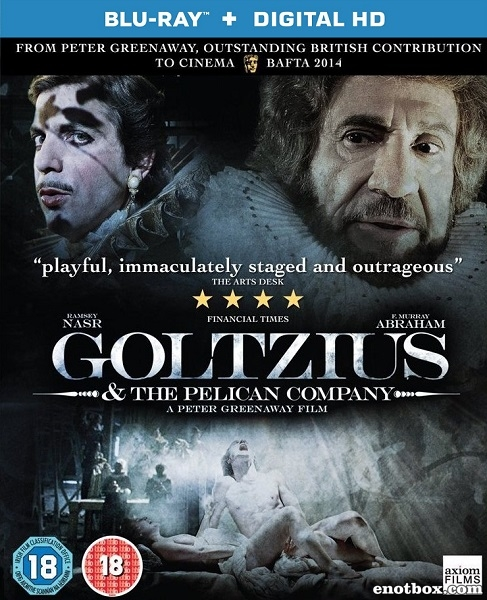 Гольциус и Пеликанья компания / Goltzius and the Pelican Company (2012/HDRip)