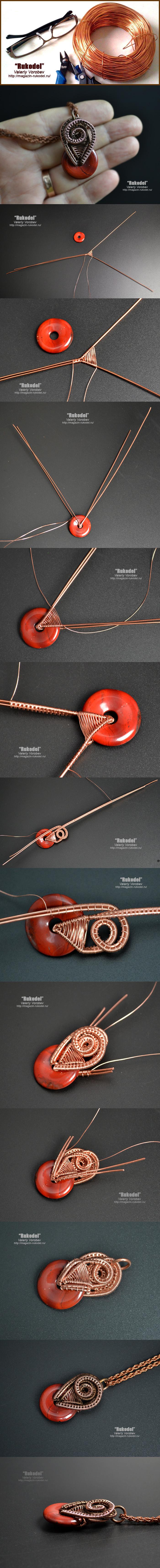Украшения в технике Wire Wrapping