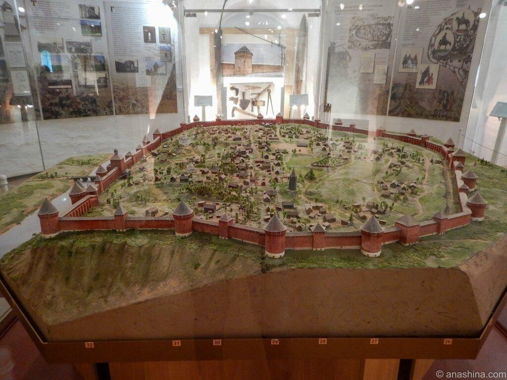 Макет-реконструкция Смоленской крепости, Смоленск - щит России