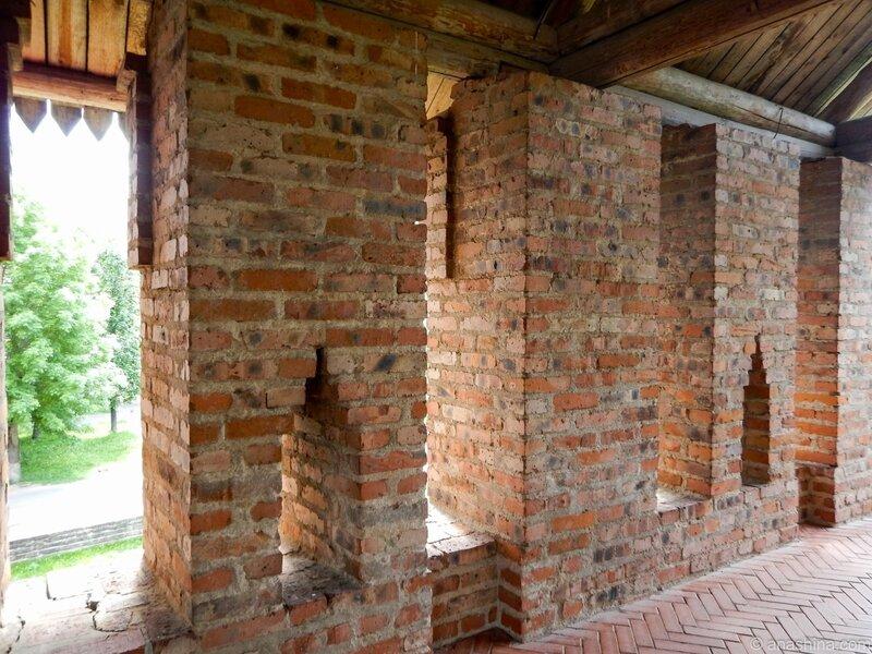 крепостная стена, Громовая башня, Смоленск