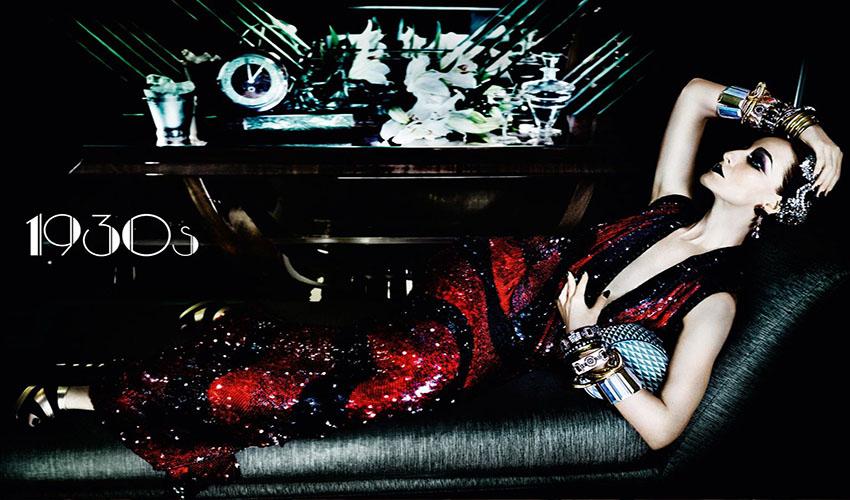 Vogue UK June 2016 Decades 1930s Erin OConnor by Mario Testino