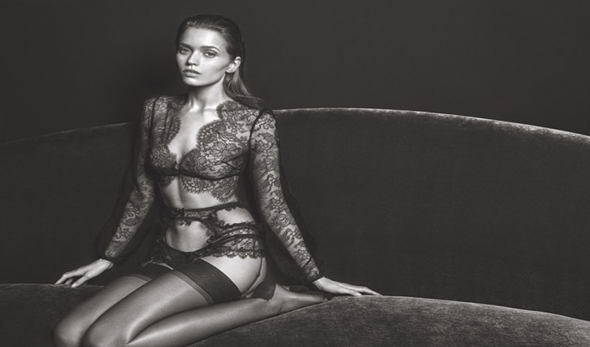 Abbey Lee Kershaw - Agent Provocateur (Fall-Winter 2016 campaign)
