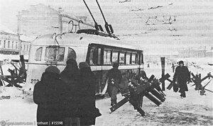 Большая Калужская улица (Ленинский проспект), 1941