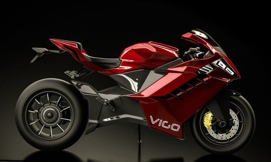 Концепт электроцикла Vigo