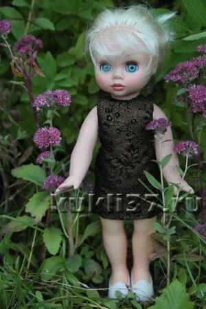 сарафан для куклы из 1 детали