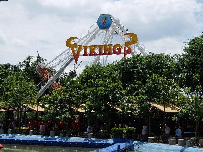 Тайский Диснейленд - Ладья викингов