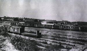 Санитарные поезда эвакуационной комиссии. Харбин