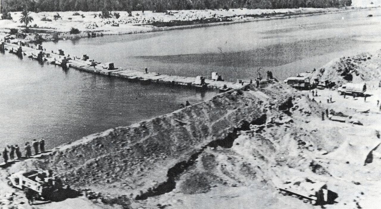 Израильский мост через Суэцкий канал