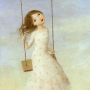 Девочка на качелях