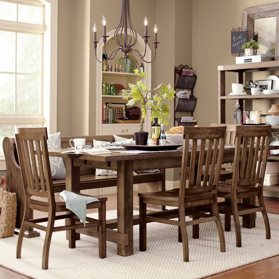 Extending dining room tables