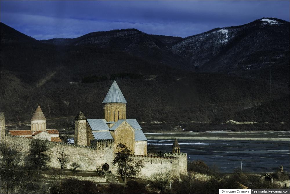 Перевал Крестовый. Вое́нно-Грузи́нская доро́га