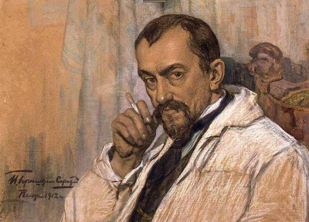 «Портрет скульптора К.А.Клодта»1912