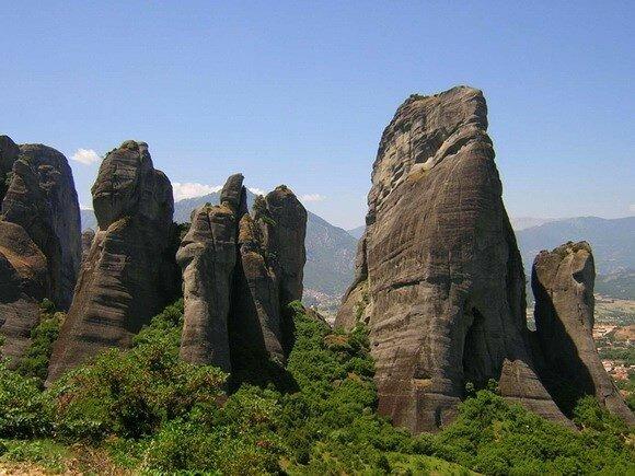 Скалы и горы планеты (фото)
