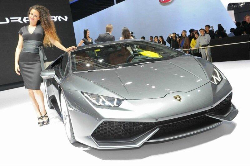 Ведущие мировые автоконцерны рассекретили свои новинки на салоне в Шанхае