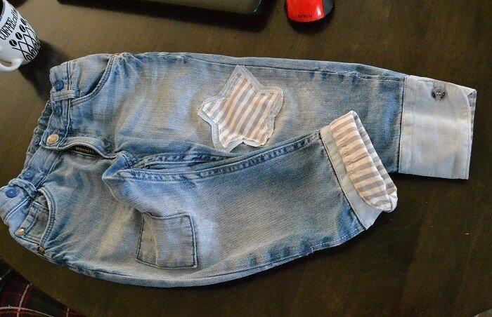 0 1c4ecd b2c2575a XL Как легко удлинить детские джинсы