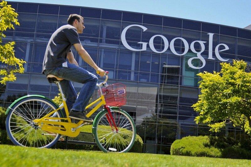 Google - Jahreszahlen