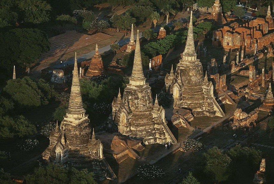 43. Царские гробницы в Аюттхае, Тайланд.