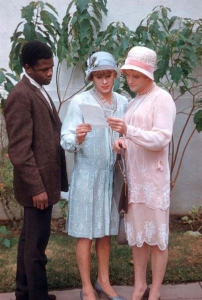 Цветные фотографии со съемок фильма
