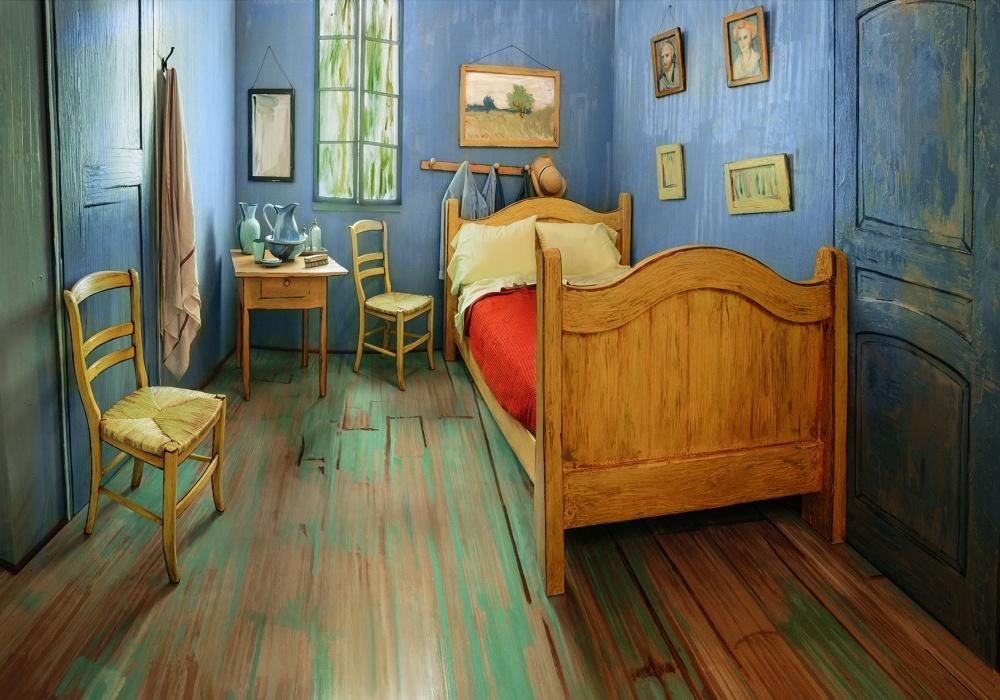 ВЧикаго можно снять комнату, которая воссоздает спальню Ван Гога (5 фото)