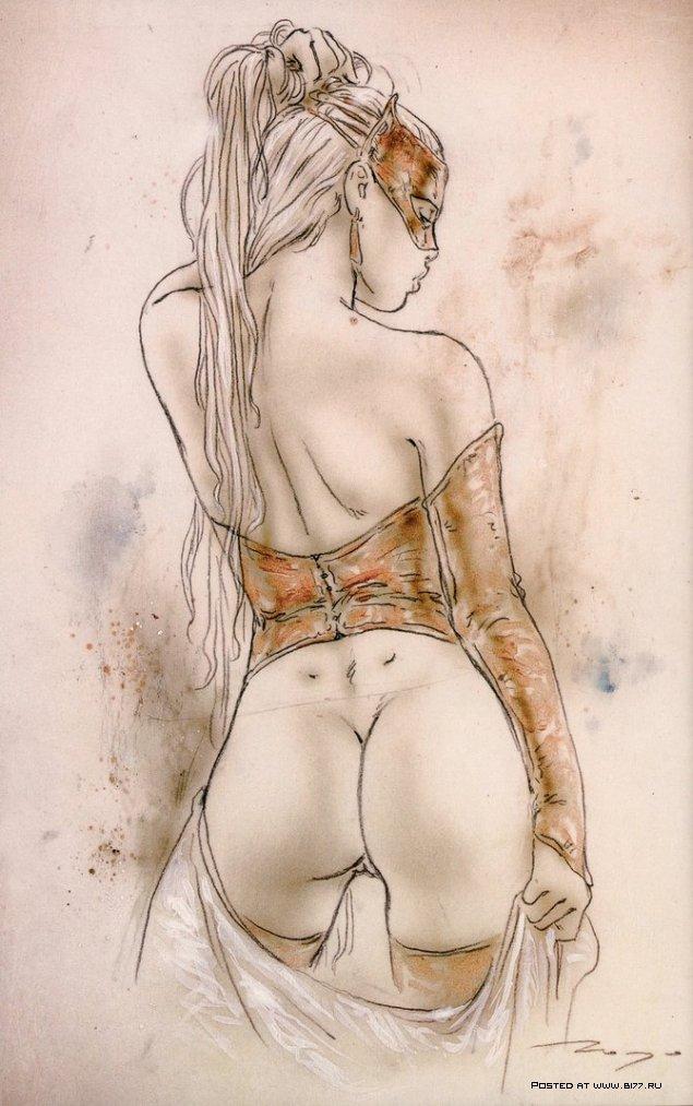 рисунок сексуальный