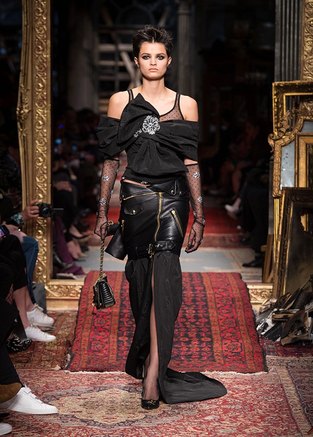 #MFW Moschino Fall Winter 2016 Collection - Design Scene - Fashion, Photography, Style & Design