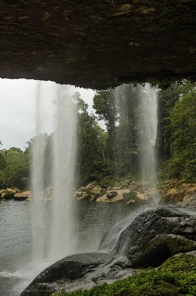 10. Вот как выглядит Мисоль-Ха в сухой период. Я видел отчеты туристов об экскурсии сюда в сезон дождей. Здесь творится ад! Отдых в Мексике самостоятельно.