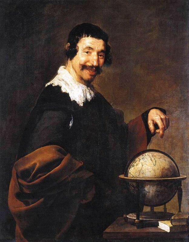 Демокрит, Диего Веласкес, 1628—1629 годы.jpg