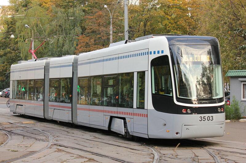 Трамвай Песа 3503