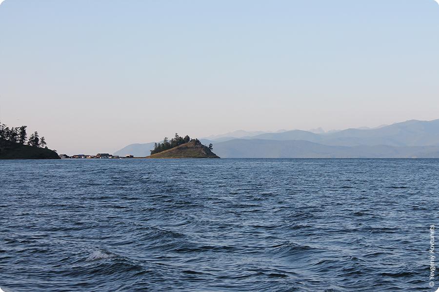 рыбацкий поселок на Святом Носу, Байкал