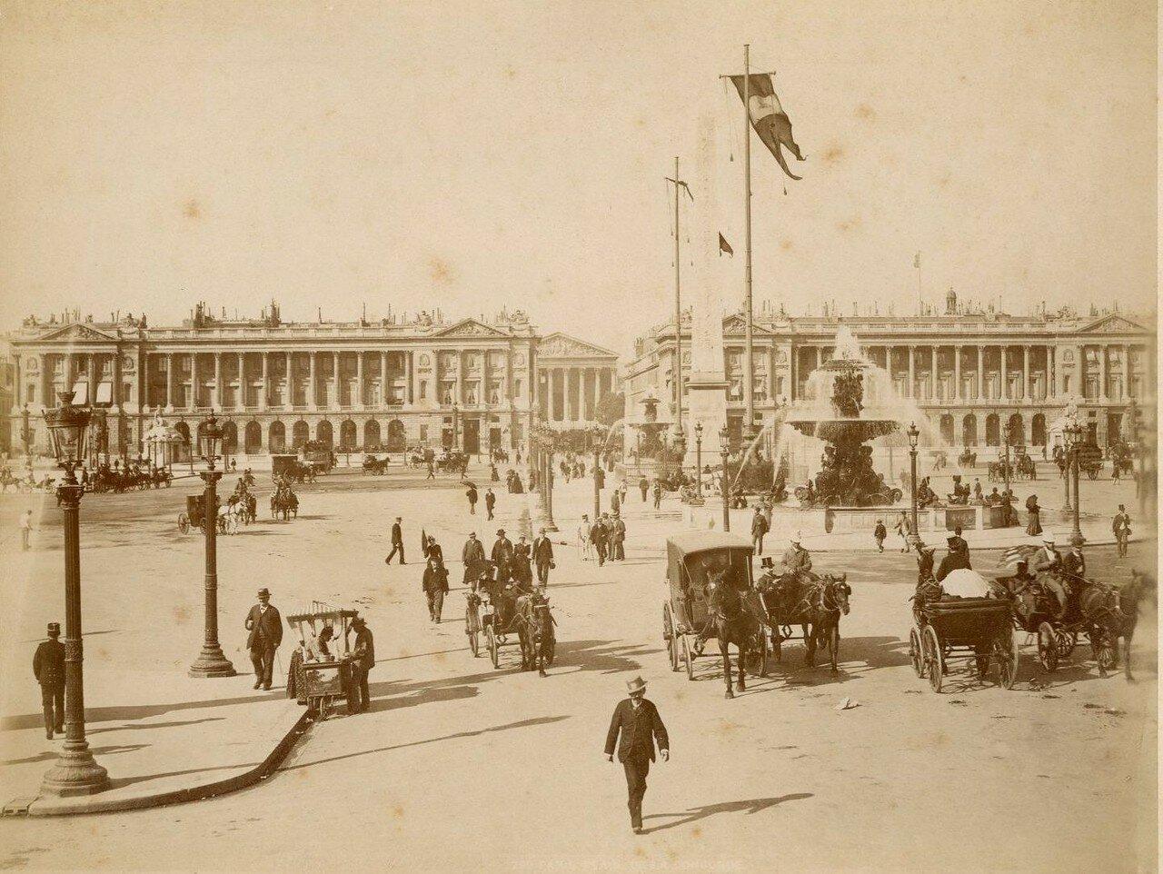 1880-е. Площадь Согласия