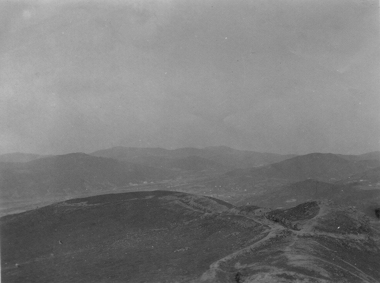 Вид на долину Первой речки на север