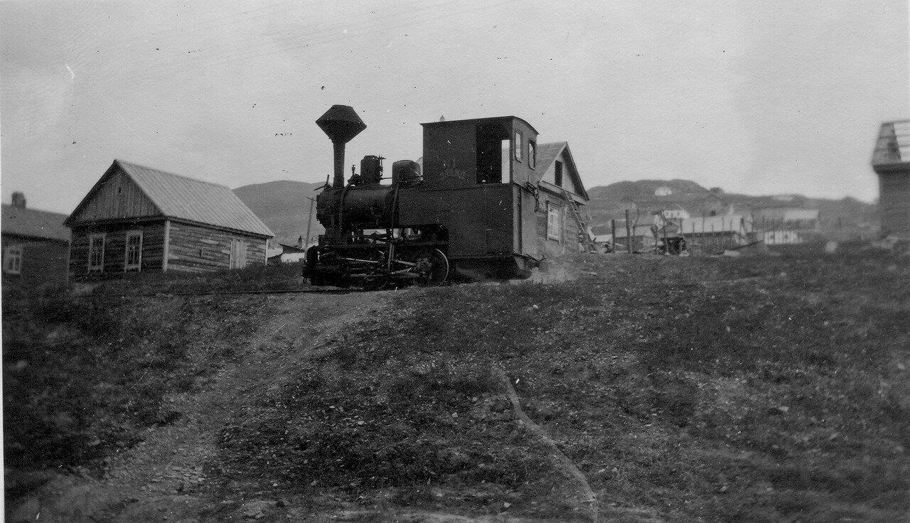 Паровоз германской постройки завода Краусс и Ко