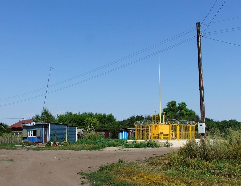 Газ в Трескино 2014 г.