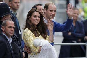 Принц Уильям и Кейт Миддлтон не разглашают имя новорожденной