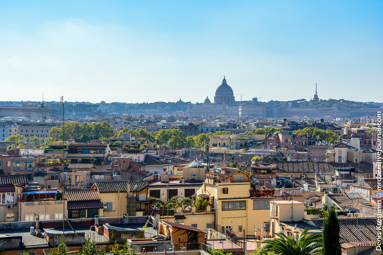 Рим. Панорамка.