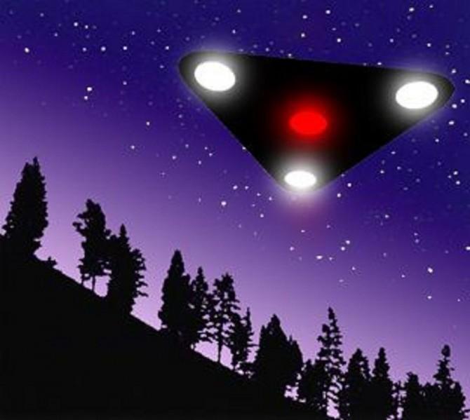 Открытки с Всемирным днём НЛО. Корабль с огоньками! открытки фото рисунки картинки поздравления