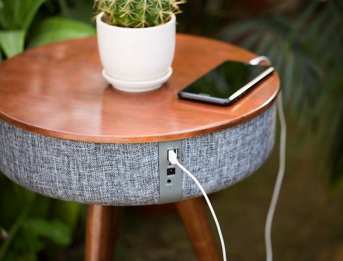 The Mellow – кофейный стол и динамики со звучанием на 360 градусов по совместительству Хотя один съё